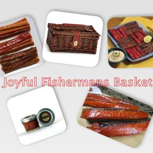 Happy Fisherman's Gift Basket